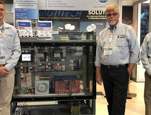 Saminco JR1000 VFD Feeder Breaker System at AIMEX 2017