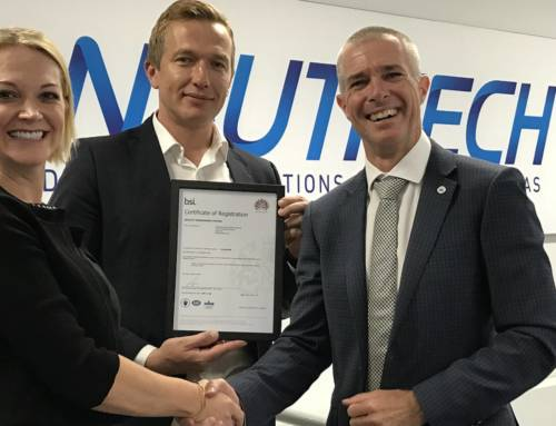 Nautitech successfully transitions to ISO9001:2015
