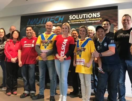 Nautitech staff wear their favourite jerseys in support of organ donation
