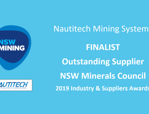 Nautitech named Finalist in NSW Mining Industry & Suppliers Awards