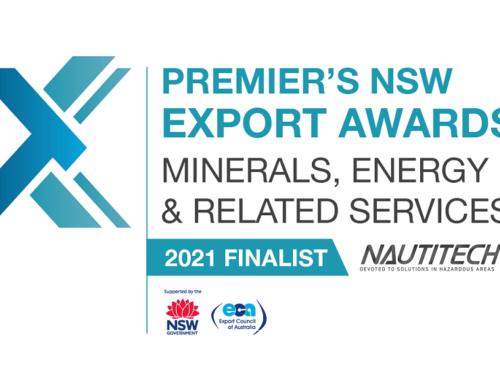 Nautitech Finalist in 2021 Export Awards